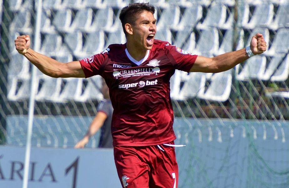Sefer a marcat un gol în victoria Rapidului