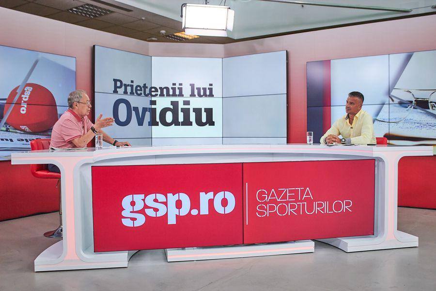 """Ediție eveniment la """"Prietenii lui Ovidiu"""" » Daniel Pancu, dezvăluiri în exclusivitate: """"Nu sunt implicat la Rapid! Nu-mi asum acest play-off"""""""