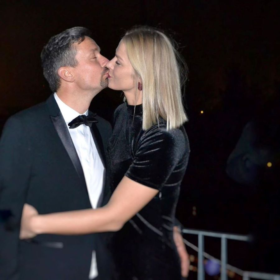 Ewgenija Minevskaja într-un moment tandru cu iubitul ei Foto Instagram