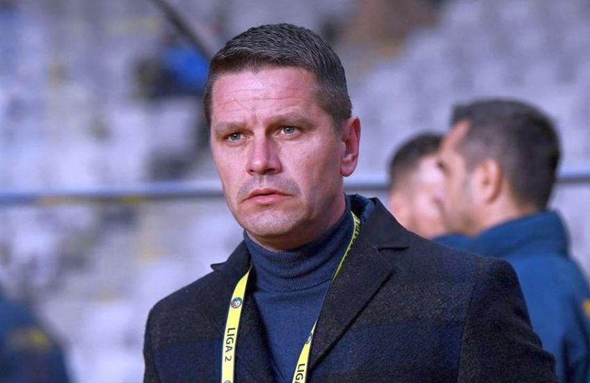 Flavius Stoican (45 de ani) este noul antrenor al celor de la Viitorul Târgu Jiu, formație din Liga 2