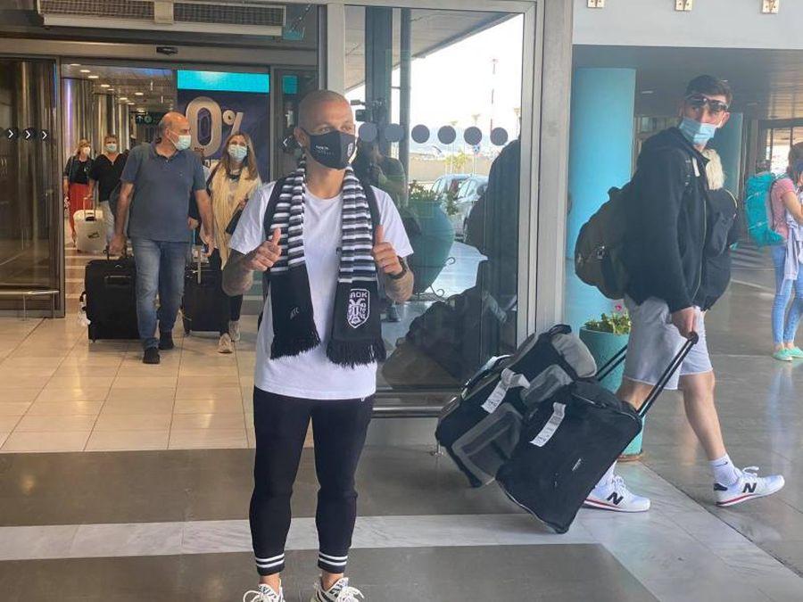 Primele imagini cu Alexandru Mitriță la Salonic! Mijlocașul va semna cu PAOK după vizita medicală