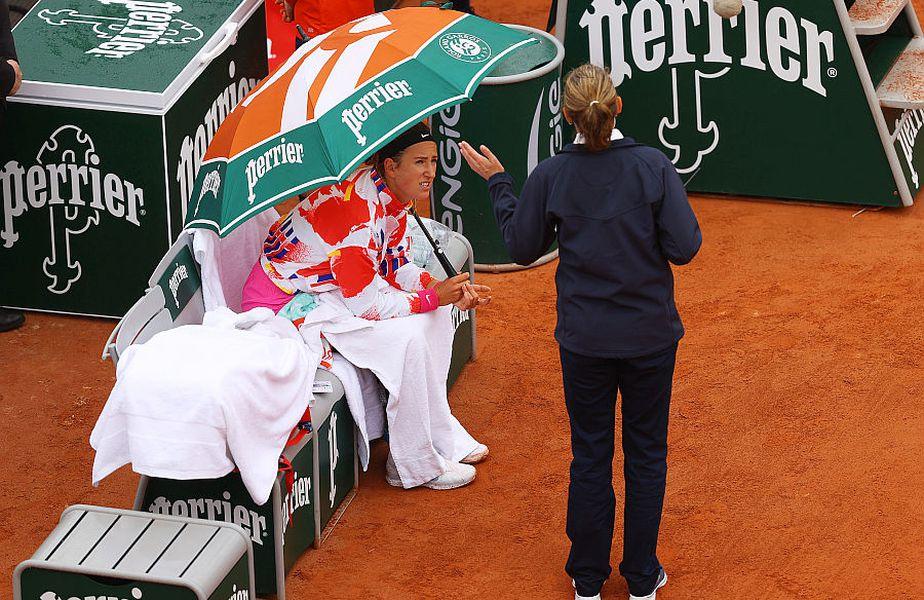 Victoria Azarenka s-a certat cu organizatorii de la Roland Garros // FOTO: Guliver/GettyImages