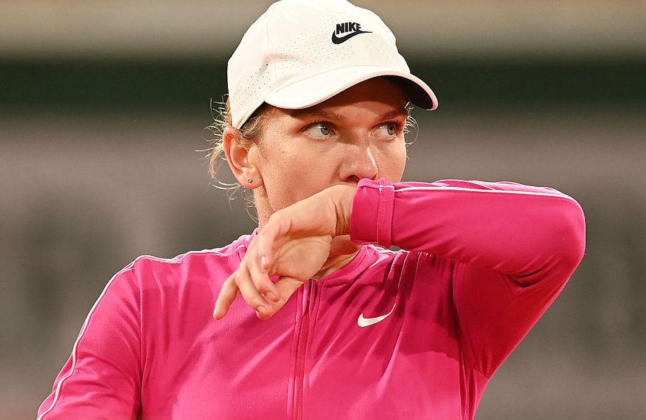 Simona Halep s-a impus în primul tur la Roland Garros 2020// FOTO:Guliver/GettyImages