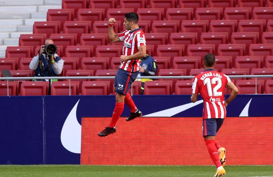 Luis Suarez, în Atletico Madrid - Granada // foto: Guliver/gettyimages