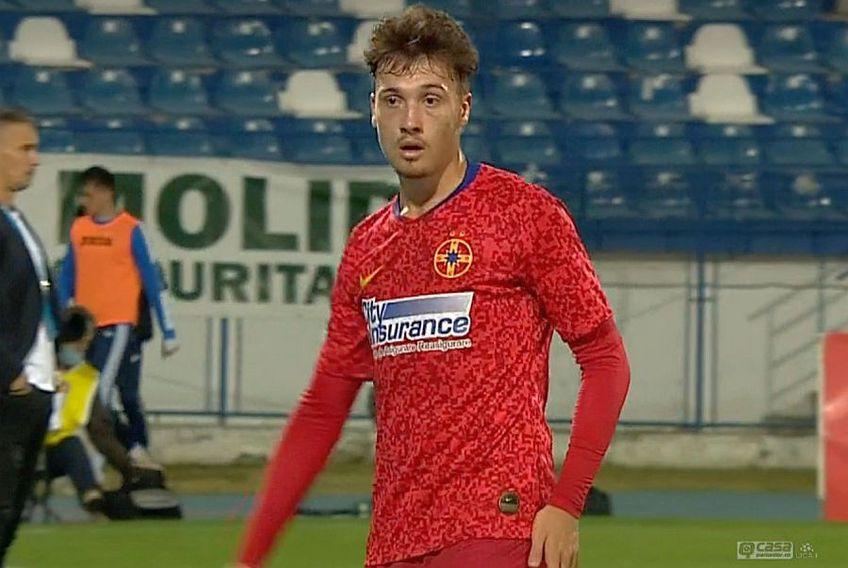 Andrei Istrate, schimbat după 28 de minute FOTO: Captură TV Telekom Sport