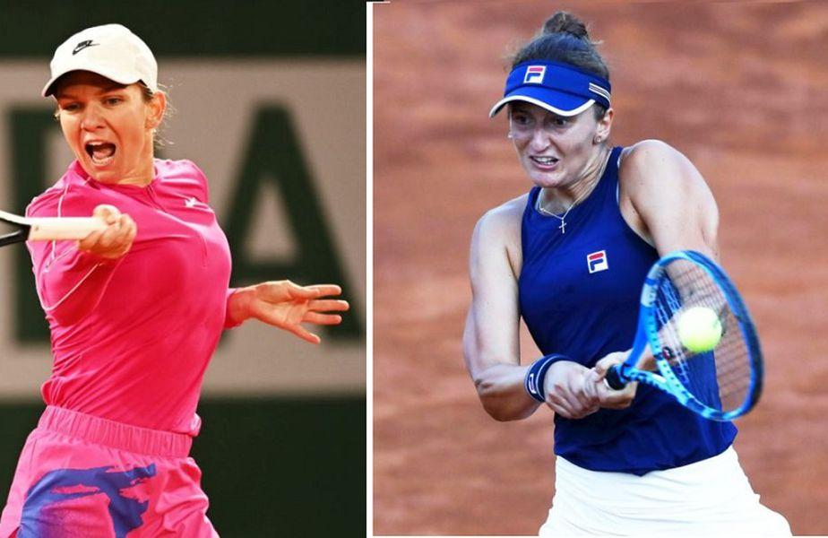 Simona Halep vs Irina Begu, foto: Guliver/Gettyimages