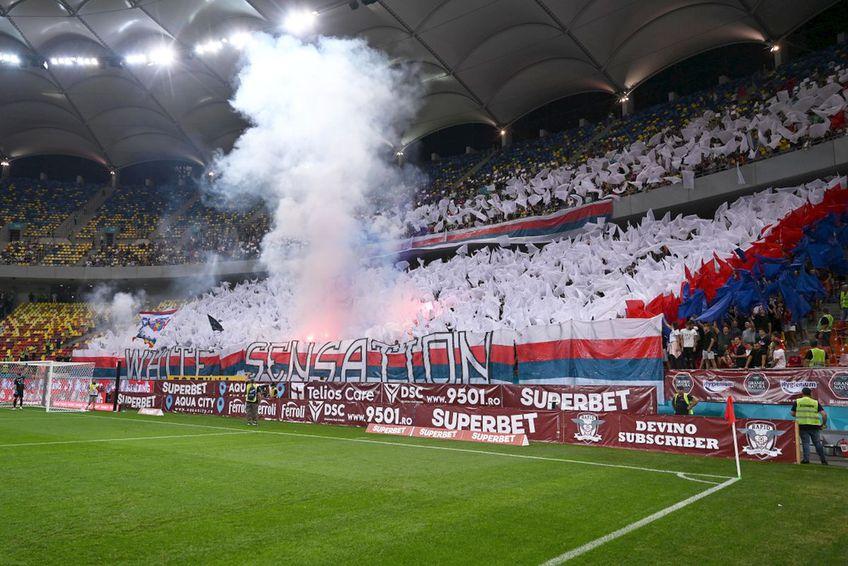 Rapid a beneficiat de un sprijin major al suporterilor în acest sezon // foto: GSP