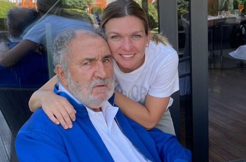 Simona Halep și Ion Țiriac / foto: Instagram Simona Halep