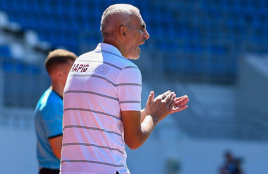 Adrian Iencsi a fost demis de la Rapid după câteva rezultate rușinoase