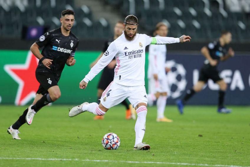 Real Madrid a remizat cu  Borussia Monchengladbach, scor 2-2, într-un meci din Grupa B a Ligii Campionilor