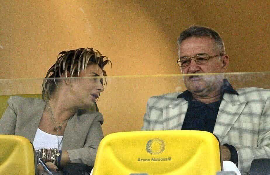 Gigi Becali, alături de Anamaria Prodan