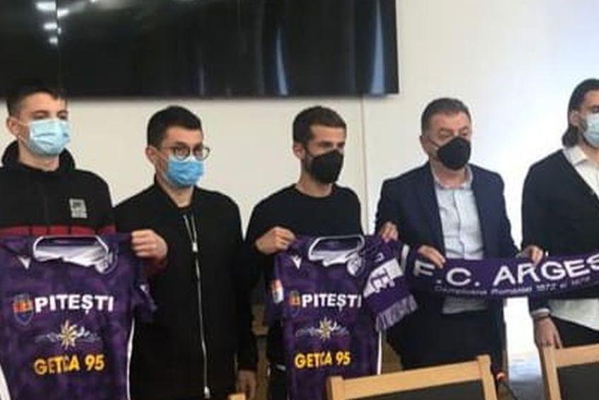 FC Argeș a bifat 3 achiziții într-o zi