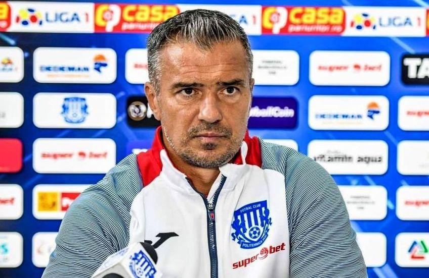 Daniel Pancu, 43 de ani, nu mai e antrenorul celor de la Poli Iași.