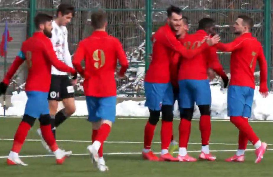 CSA Steaua - U Cluj 4-1