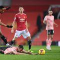 Martial și Tuanzebe, jucătorii lui Manchester United, au fost abuzați pe rețelele de socializare de fanii propriei echipe, după înfrângerea cu Sheffield United, 1-2, care a dus la pierderea locul 1 în Premier League. Guliver/GettyImages