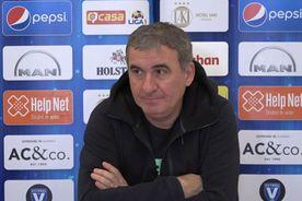 VIDEO Ce și-a propus Gică Hagi înaintea debutului în play-out