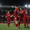 Liverpool are un avans uriaș în fruntea clasamentului din Premier League, însă există șanse reale să rămână fără titlu. Foto: Guliver/GettyImages