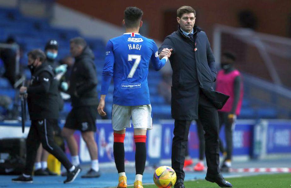 """Seria neagră a lui Jurgen Klopp pe banca lui Liverpool i-a făcut pe șefii """"cormoranilor"""" să se gândească deja la un înlocuitor. Steven Gerrard, antrenorul lui Ianis Hagi de la Rangers, e favoritul boardului campioanei en-titre din Premier League."""