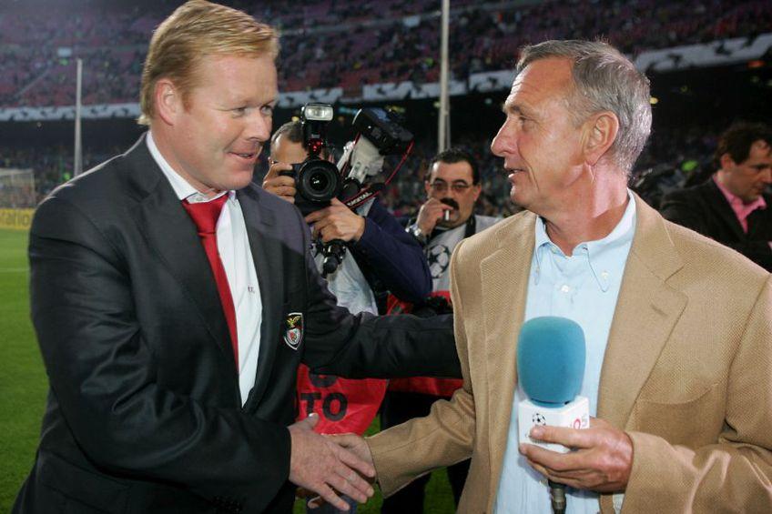 Ronald Koeman, alături de Johan Cruyff în 2006 (foto: Guliver/Getty Images)