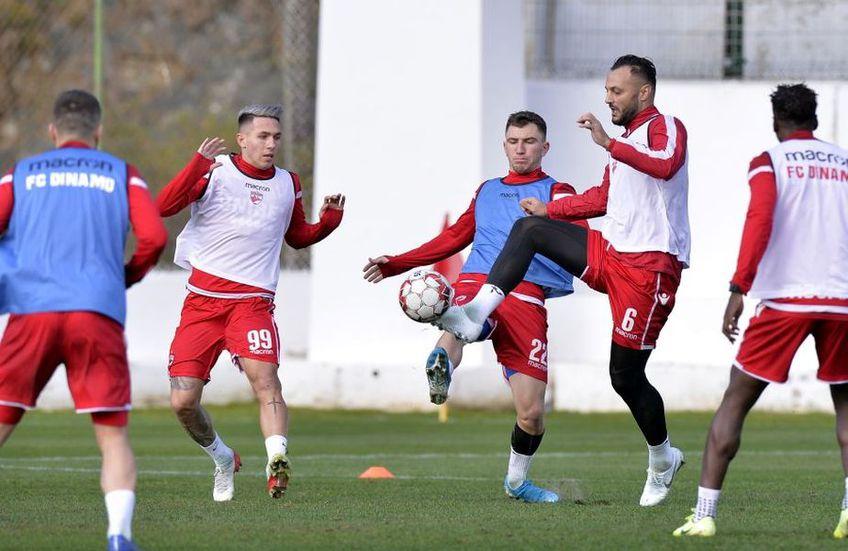 Atacantul Robert Moldoveanu (21 de ani) a revenit la antrenamentele lui Dinamo și poate fi soluția așteptată de antrenorul Ionel Gane.