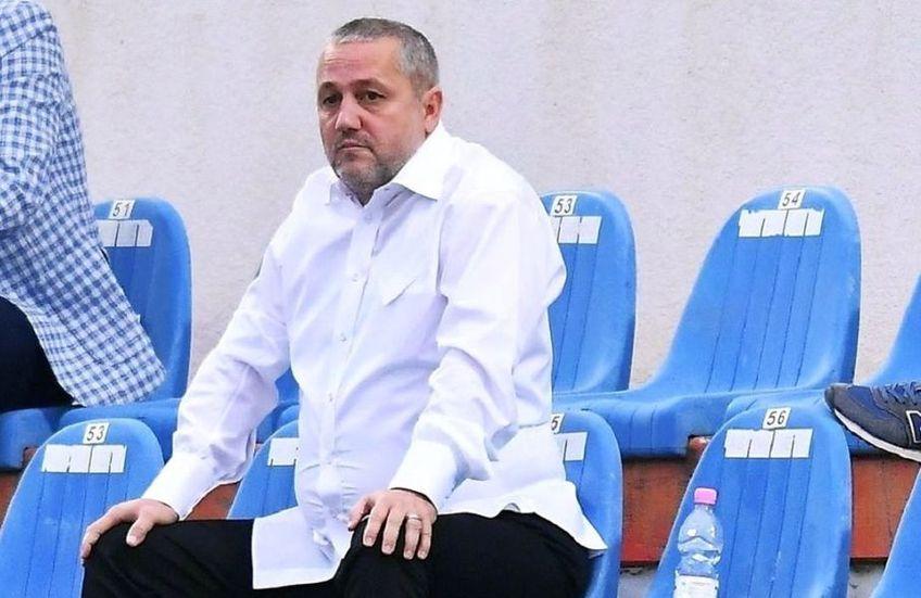 Patronul Universității Craiova îl acuză frontal pe președintele FRF, Răzvan Burleanu.