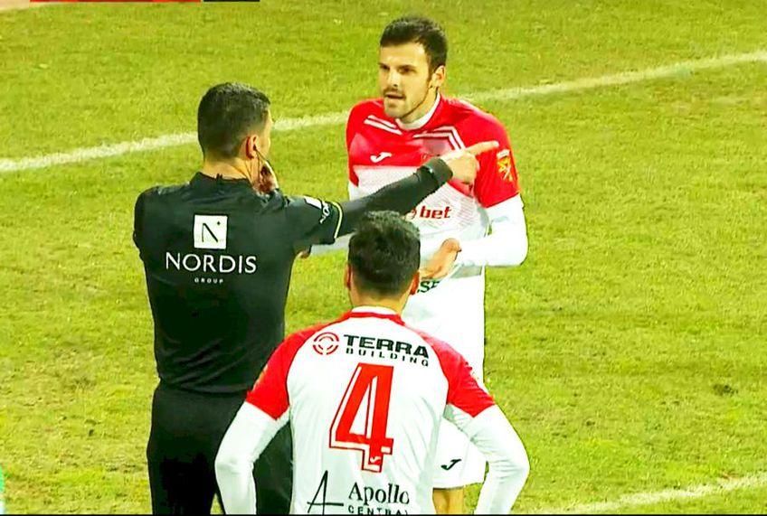 Sepsi Sf. Gheorghe a beneficiat de un penalty ciudat în minutul 63 al deplasării cu Hermannstadt, la scorul de 1-1.