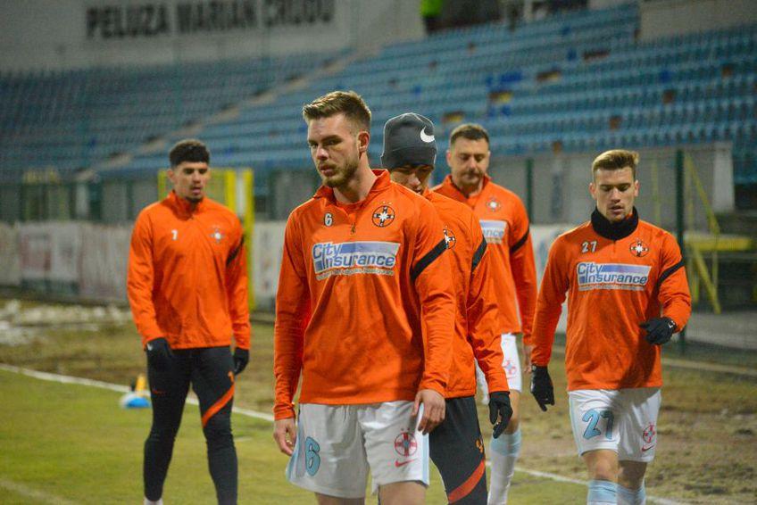 Denis Haruț (22 de ani) a rezistat doar 45 de minute în disputa dintre FC Botoșani și FCSB, încheiată 0-2.