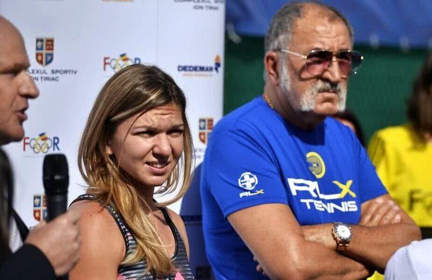 Simona Halep și Ion Țiriac au o relație foarte apropiată