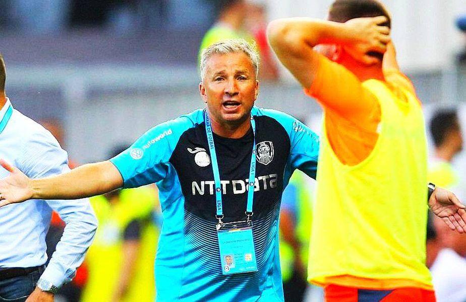 Dan Petrescu, antrenorul liderului Ligii 1, CFR Cluj