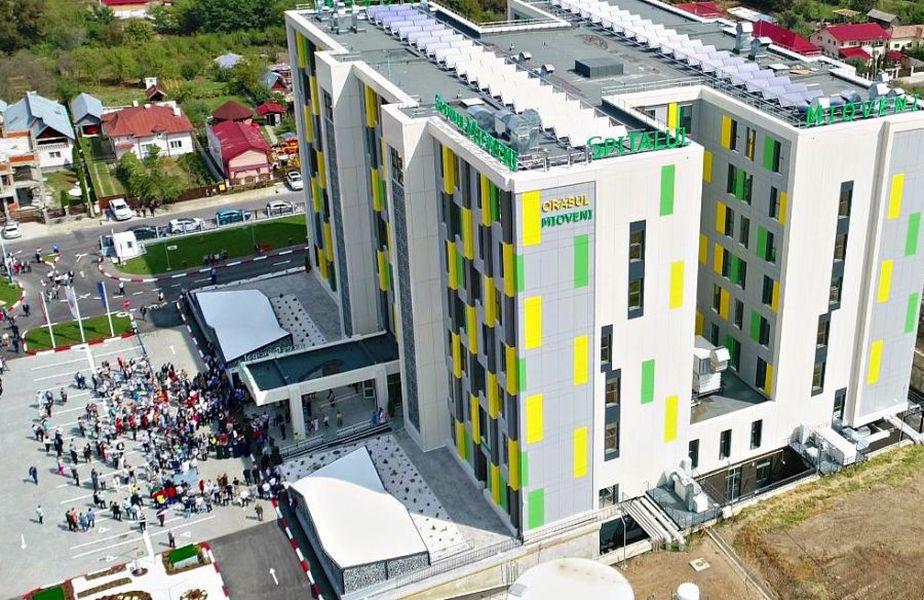 Spitalul Orășenesc Mioveni. Sursă foto: Facebook