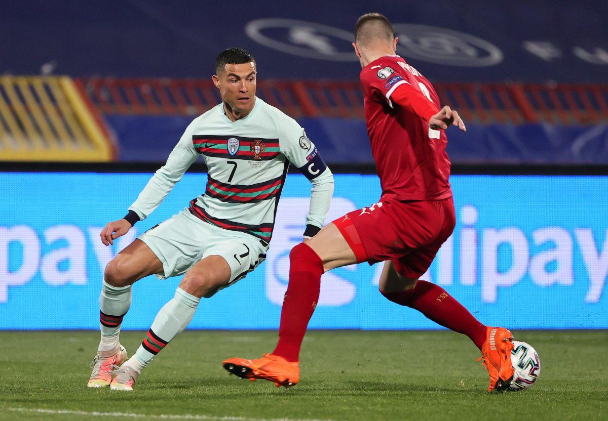 Serbia - Portugalia 2-2 // Cristiano Ronaldo