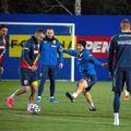 Antrenamentul României, înainte de meciul cu Germania // foto: frf.ro
