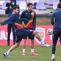 Antrenamentul României U21