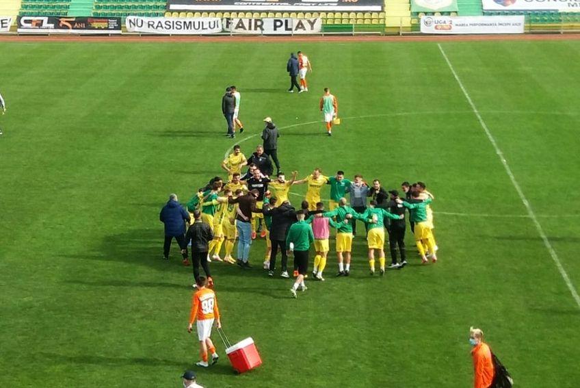CS Mioveni s-a calificat în play-off. Sursă foto: Facebook CS Mioveni