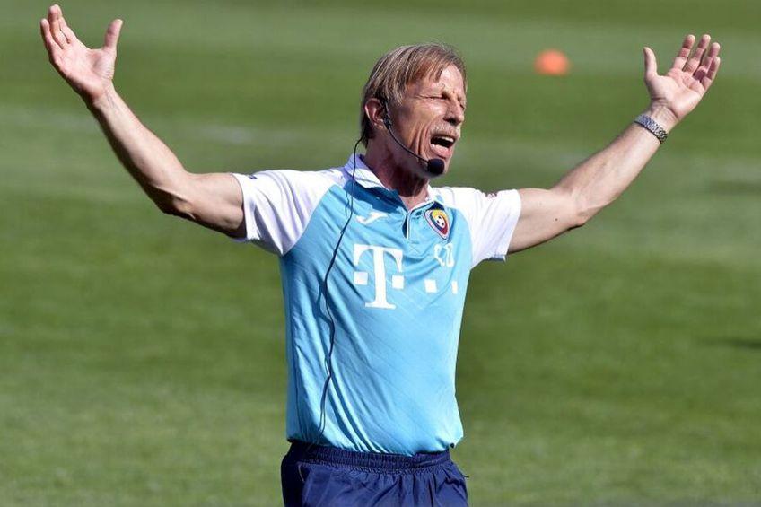 Christoph Daum, 67 de ani, fostul selecționer al României, a prefațat duelul naționalei cu Germania din preliminariile Campionatului Mondial.