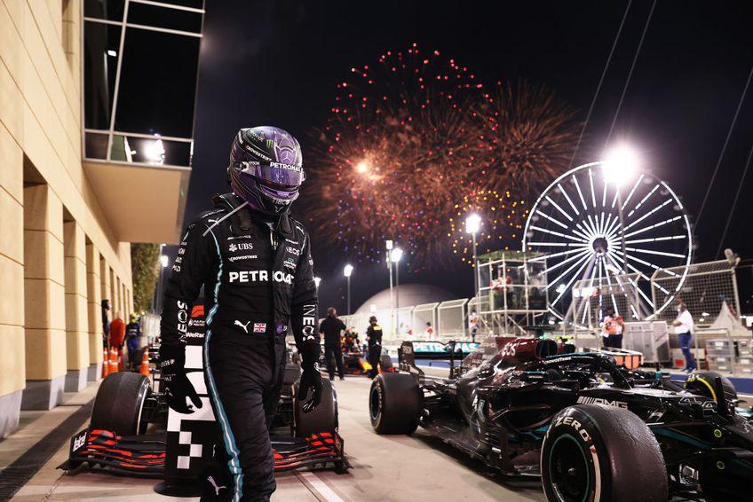 Circuitul Internațional Sakhir din Bahrain, prima cursă a sezonului 2021 din Campionatul Mondial de Formula 1, a fost câștigat de Lewis Hamilton (36 de ani), care a pornit de pe locul secund.