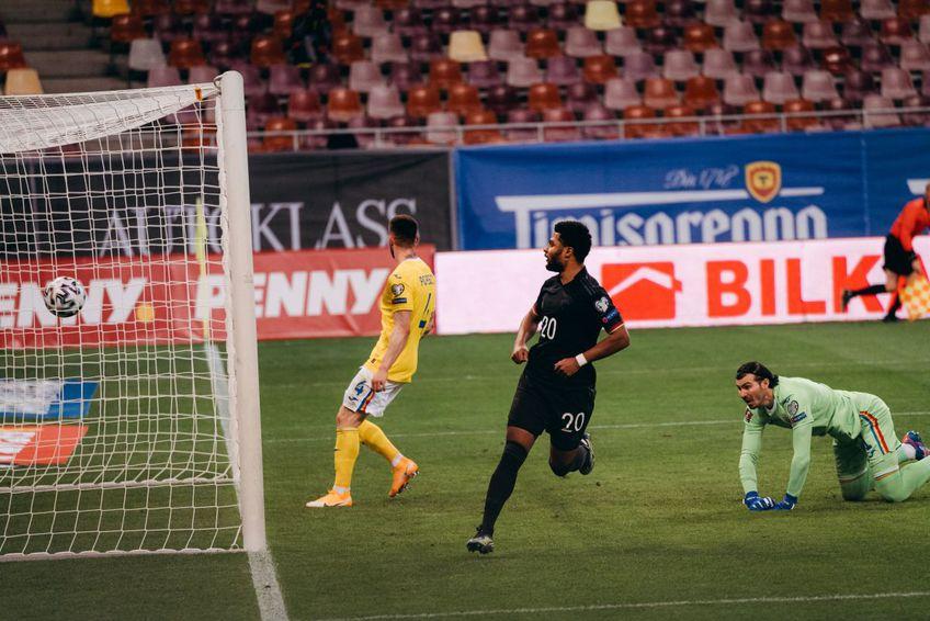 În minutul 16 al meciului România - Germania (preliminariile Campionatului Mondial), nemții au deschis scorul prin Serge Gnabry (25 de ani), jucătorul lui Bayern Munchen.