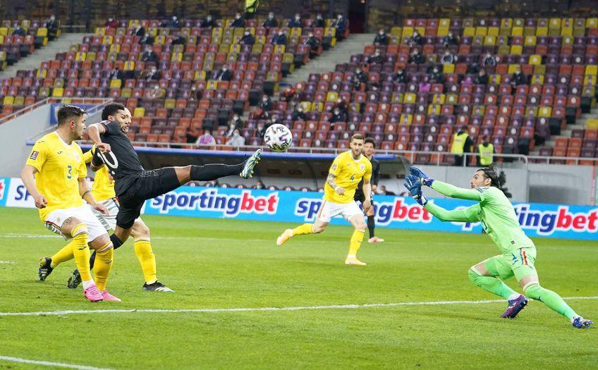 Florin Niță (33 de ani) a evoluat excelent în partida România - Germania 0-1 (preliminariile Campionatului Mondial).
