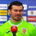 """România a pierdut la limită cu Germania, 0-1, în etapa a doua a preliminariilor Campionatului Mondial. Florin Niță, cel mai bun om al """"tricolorilor"""", și-a stăpânit cu greu lacrimile la flash-interviu."""