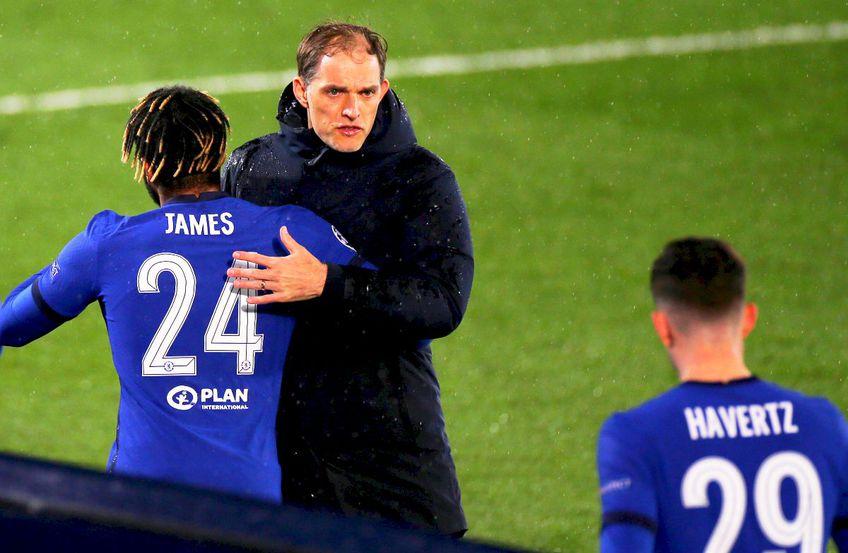 Thomas Tuchel și jucătorii lui Chelsea, foto: Imago