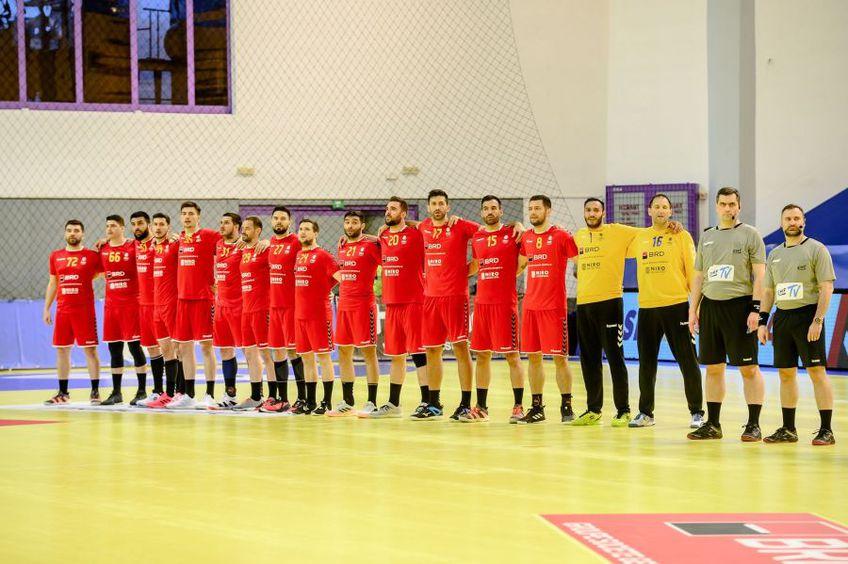 Nationala Romaniei în meciul de la Sibiu FOTO Dan Potor