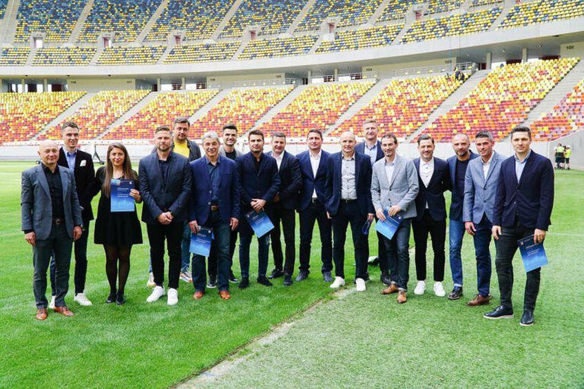 Ultimul lot de antrenori cu licență Pro / FOTO: frf.ro