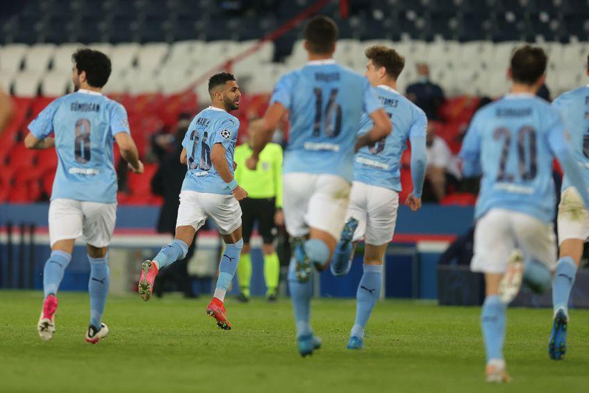 PSG și Manchester City se întâlnesc de la ora 22:00 în turul semifinalelor UEFA Champions League // FOTO: Guliver/GettyImages