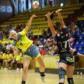 Daria Bucur este una dintre jucătoarele care au recurs la metoda de terapie cu laser FOTO Marius Ionescu