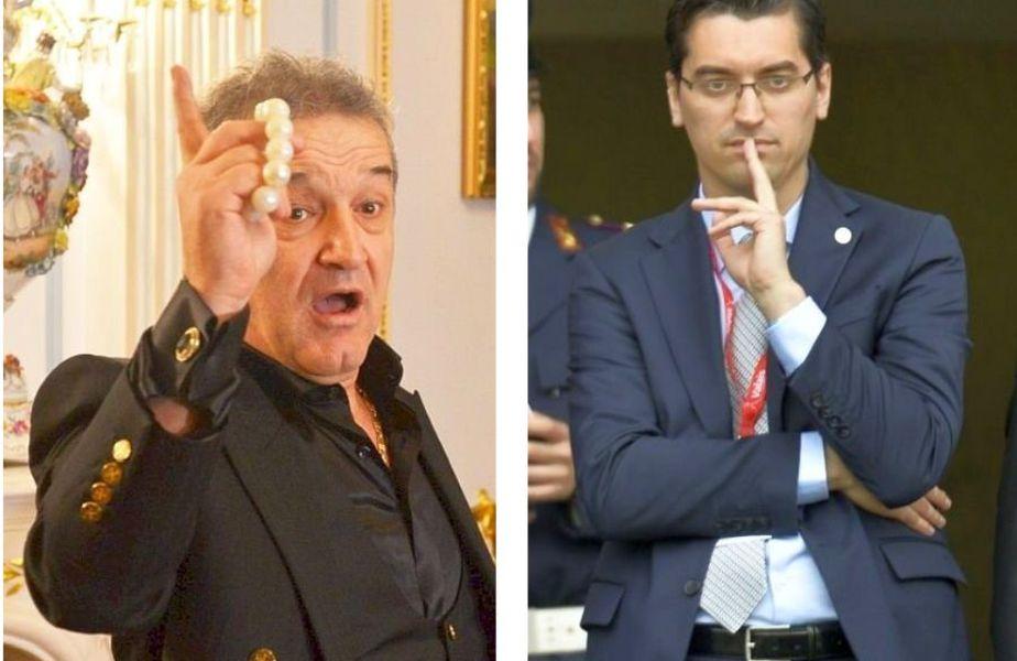 Gigi Becali, enervat de spusele lui Răzvan Burleanu
