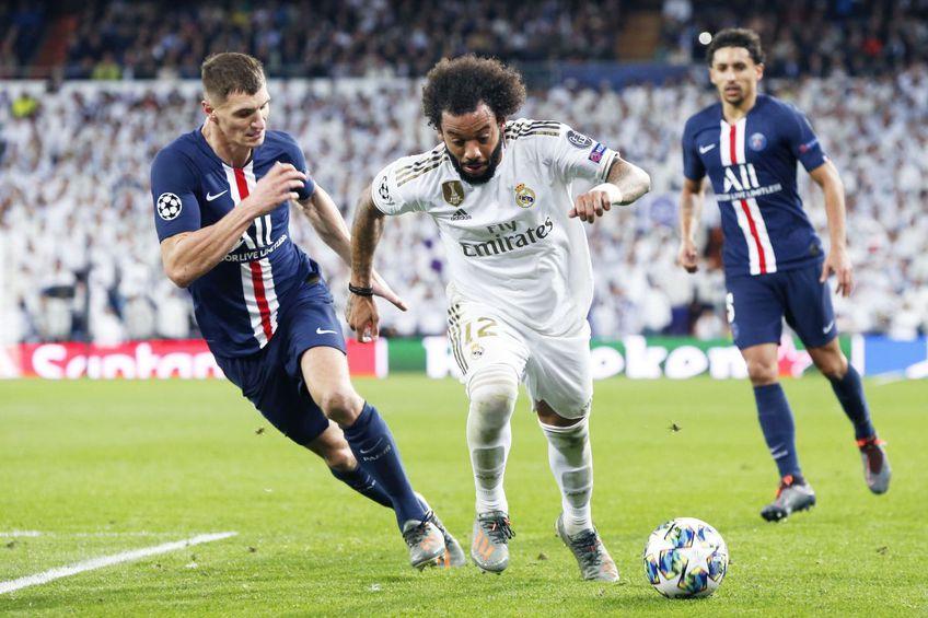 Marcelo, unul dintre liderii celor de la Real Madrid, foto: Imago