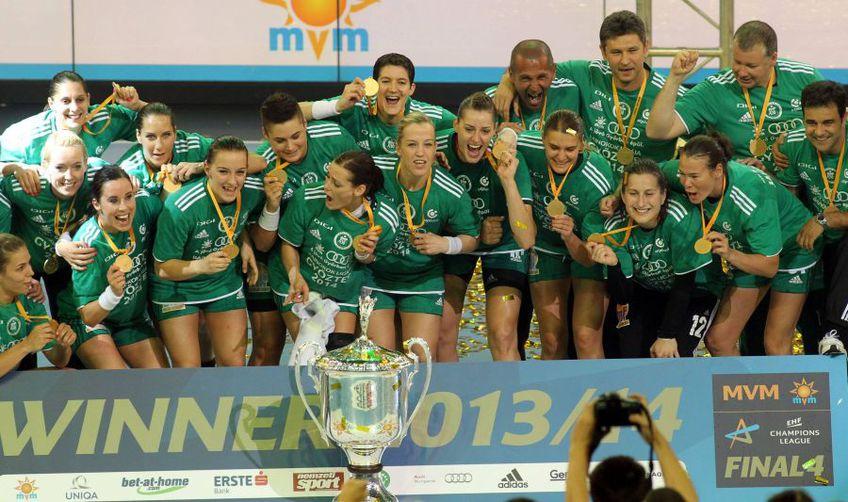 Gyor domina handbalul european din 2014 FOTO IMAGO