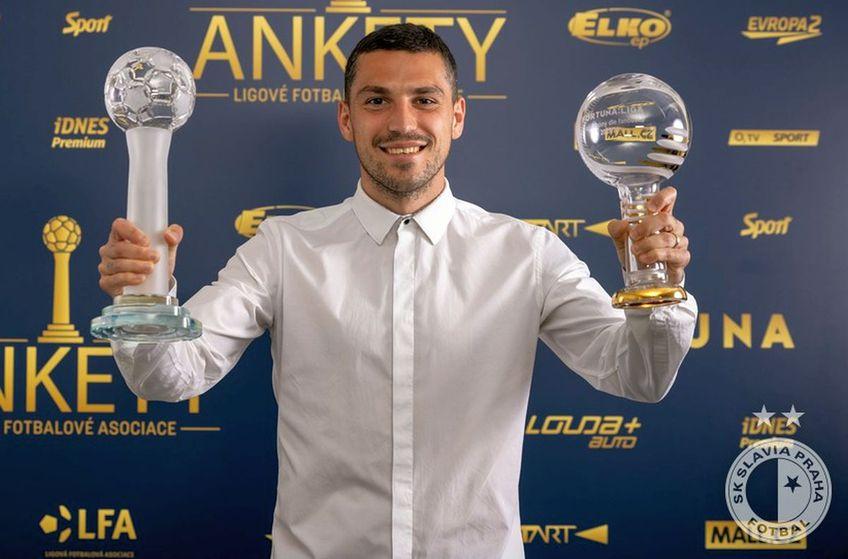 Nicolae Stanciu, două premii importante în Cehia, după sezonul excelent cu Slavia