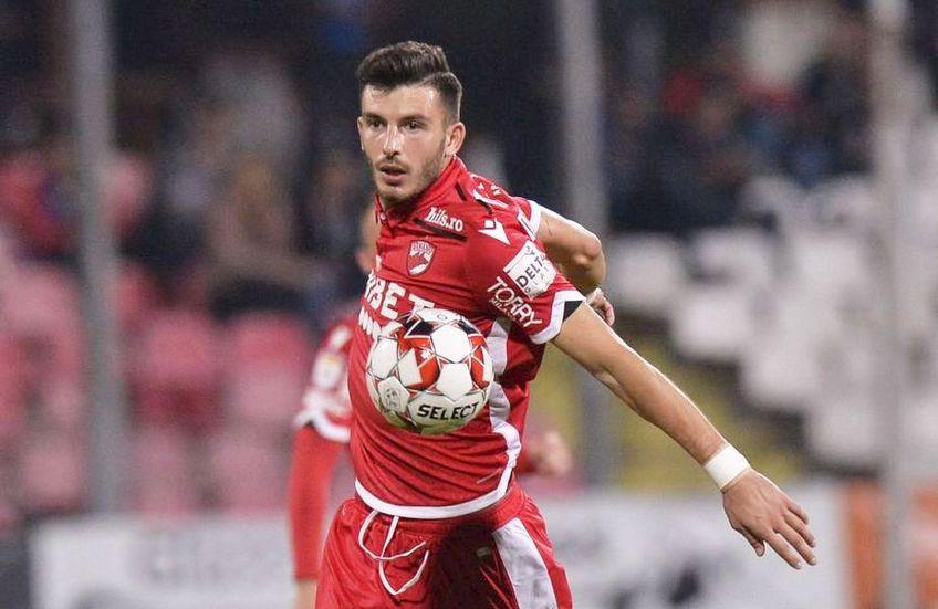 Mihai Popescu este cotat la 475.000 de euro pe Transfermarkt