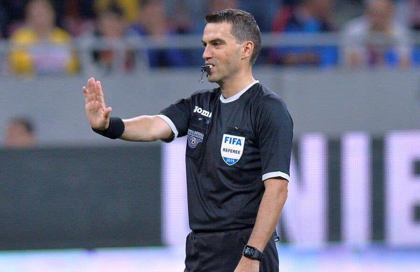 Ovidiu Hațegan va arbitra meciul Dinamo - FC Volunari